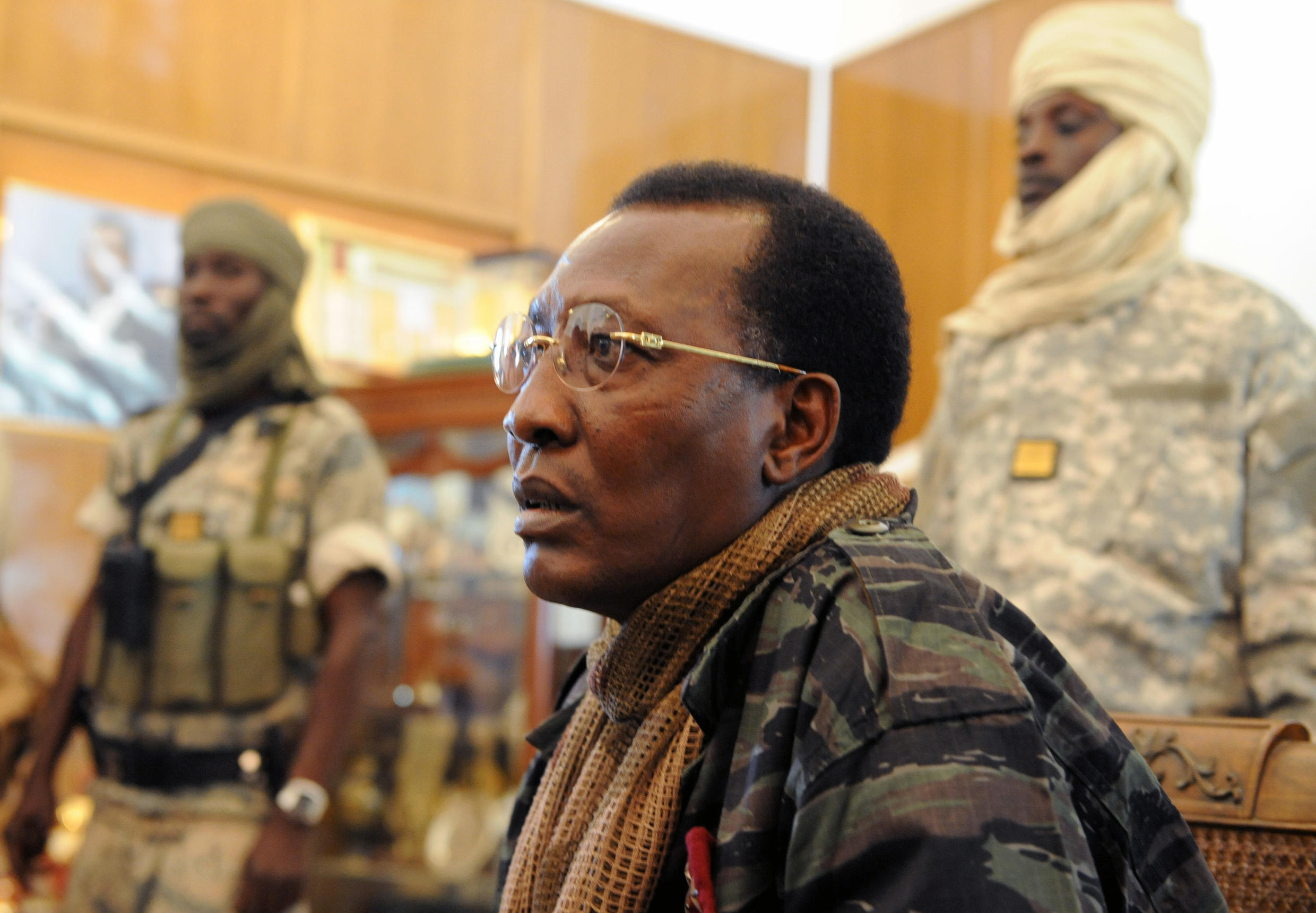 Chad's slain president Idriss Deby Itno had been declared the winner of an April election