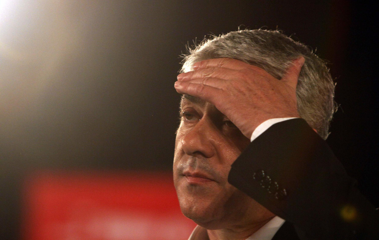 El ex primer ministro portugués José Sócrates.