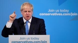 Boris Johnson eleito líder do Partido conservador e futuro PM do Reino Unido