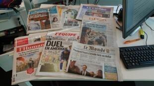 Diários franceses 25.07.2017