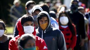A quarentena aplicada em vários países da América Latina, diferentemente do Brasil, o país mais atingido pelo coronavírus na região.