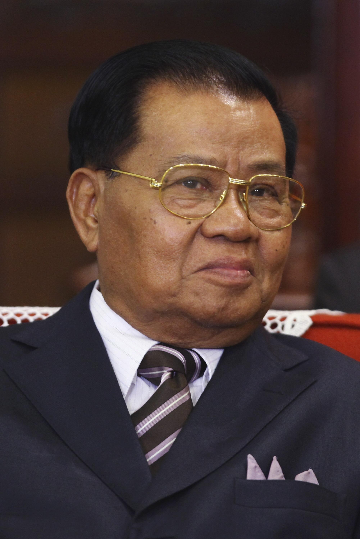 Myanmar's leader General Than Shwe