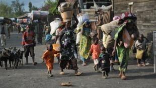 'Yan gudun hijira a kasar Jamhuriyar demokuradiyar Congo