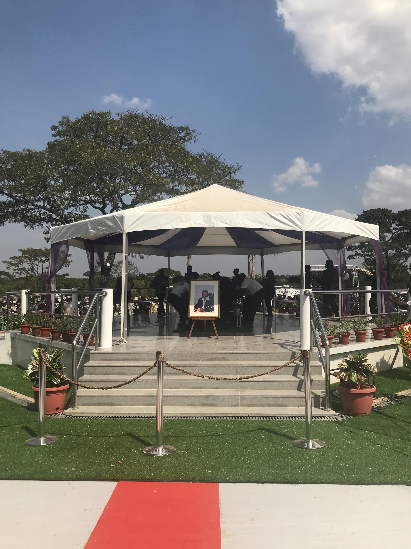 Funeral de Jonas Savimbi.