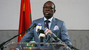 L'ancien Premier ministre de Blaise Compaoré, Luc-Adolphe Tiao, ici en 2011.