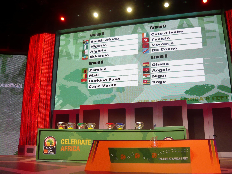 Sorteio do CAN 2013