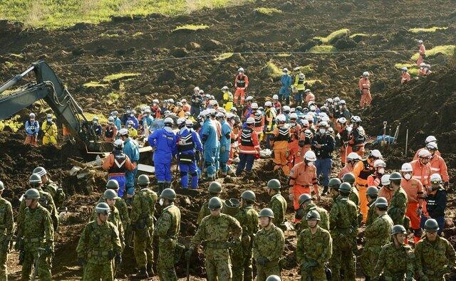 日本熊本縣地震日本自衛隊展開救援行動2016年4月20日