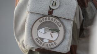 Le badge de l'opération Barkhane.