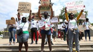 "Protesto ""Luanda Lixada"""