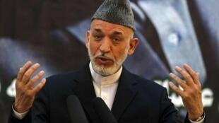 Rais wa Afghanistani, Hamid Karzai