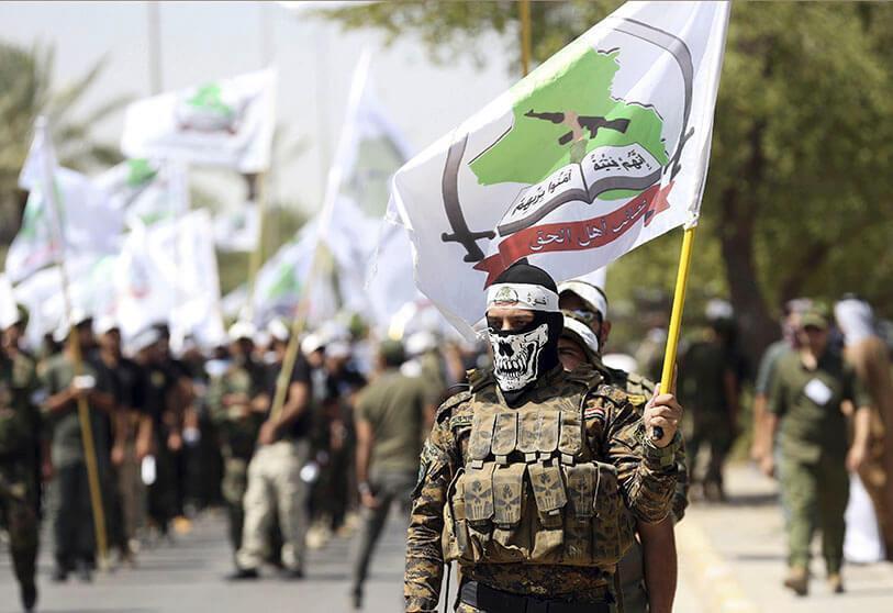 Atalayar_Miembros de las Fuerzas de Movilización Popular Iraquíes