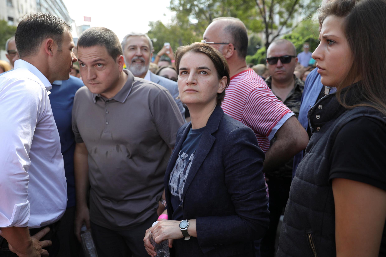Премьер-министр Сербии Ана Брнабич открыла гей-парад в Белграде