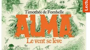 Capture d'écran de la couverture du roman «Alma, le vent se lève» de Timothée de Fombelle chez Gallimard-Jeunesse.