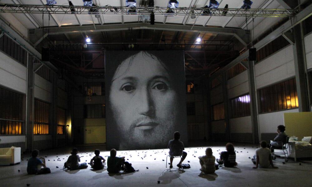 'Sobre el concepto del rostro del hijo de Dios' de Romeo Castellucci