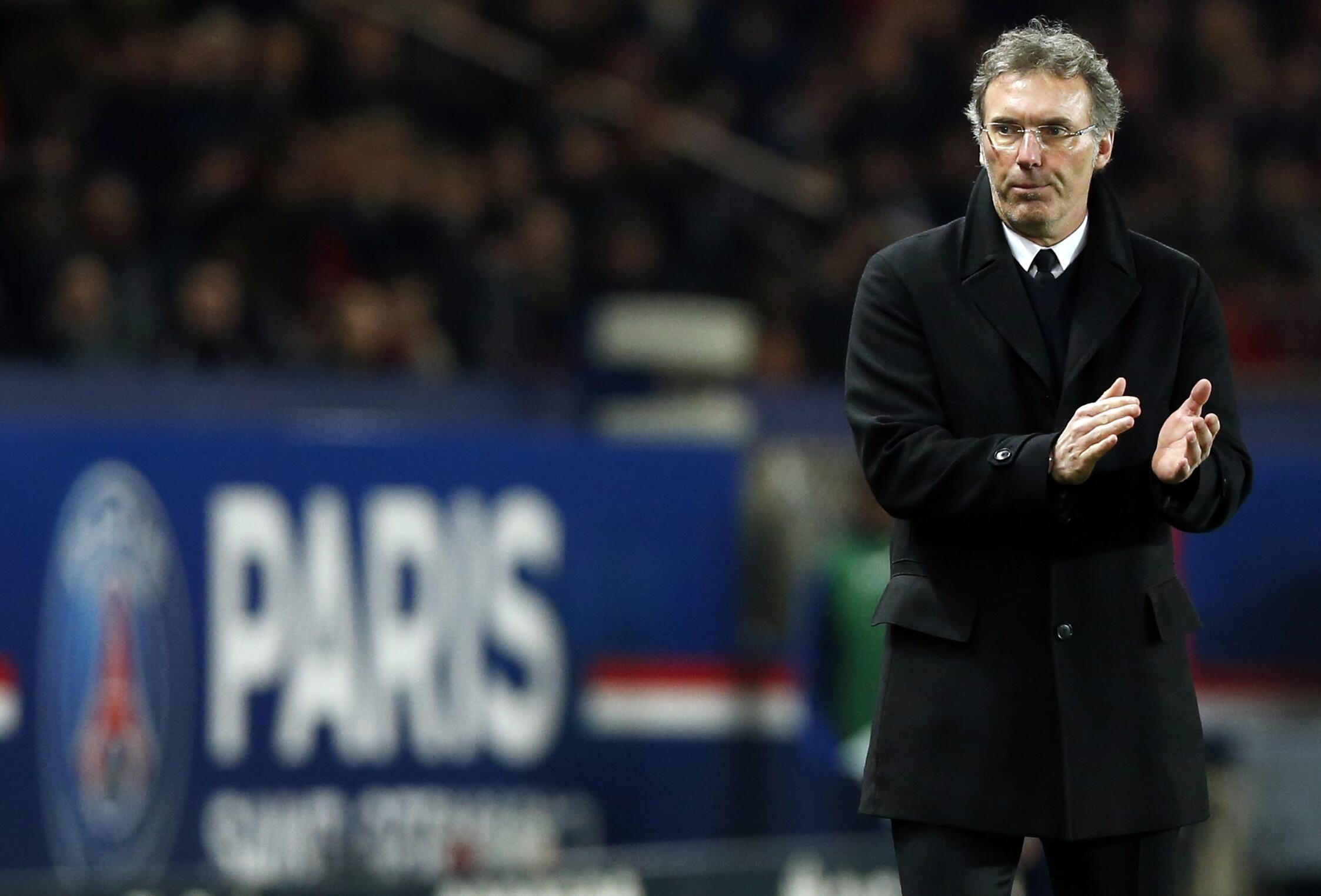 O técnico do Paris Saint-Germain, Laurent Blanc, em foto de arquivo.