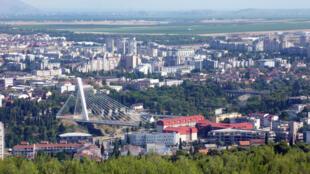 Podgorica, capitale économique du Montenegro.
