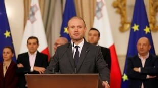 Maltese Prime Minister Joseph Muscat at a press conference 29 November, 2019.