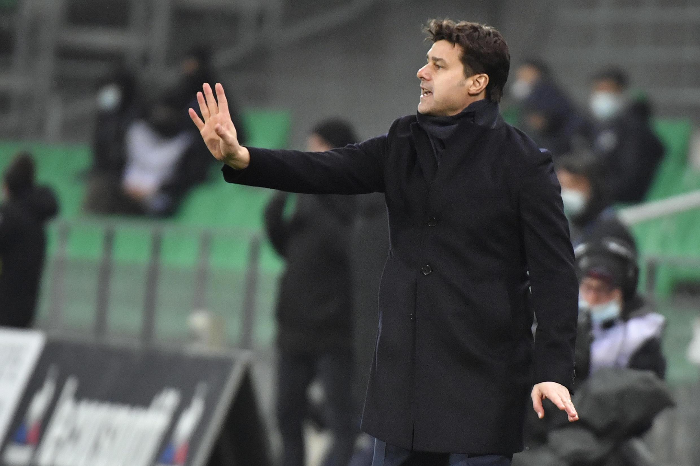 Pochettino endured a frustrating start to life as PSG coach
