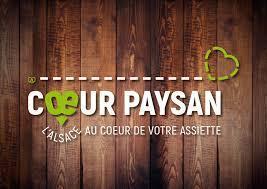 """Siêu thị """"Coeur Paysan"""" (Trái Tim Nông Dân) của 35 nhà nông Pháp."""
