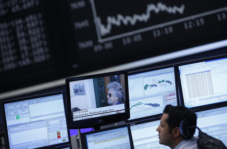A la bourse de Francfort, le Dax a chuté de 2% après l'annonce des résultats des législatives en Italie.