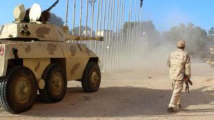 Vikosi vya serikali ya umoja vikijaribu kuingia katika mji wa Sirte.