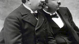 Os irmãos Lumière, que ganham mostra no Grand Palais, em Paris