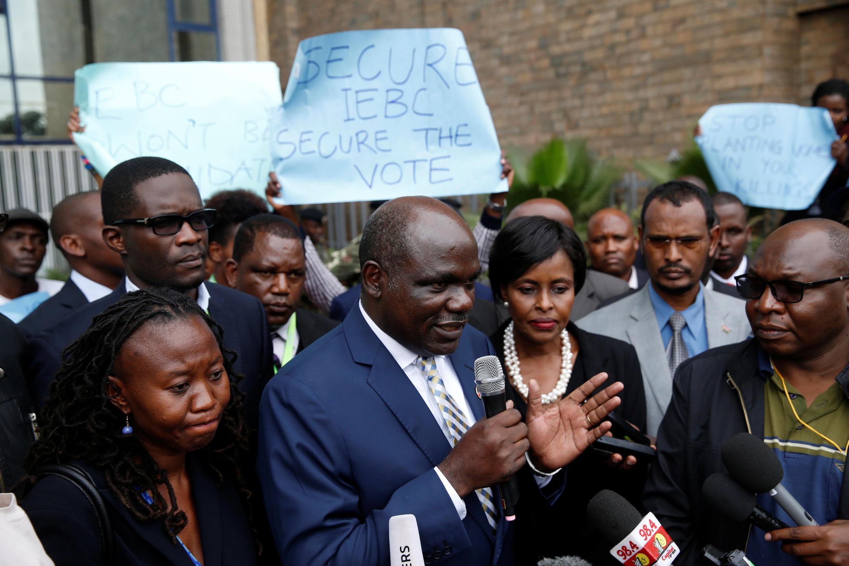 Mwenyekiti wa Tume ya uchaguzi na mipaka nchini Kenya Wafula Chebukati