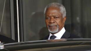 Кофи Аннан в Дамаске, 10 марта 2012 года