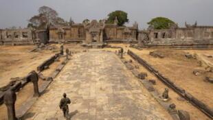 Le temple de Preah Vihear, le 8 février 2011.