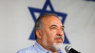 Avigdor Lieberman, exministro de Defensa israelí.