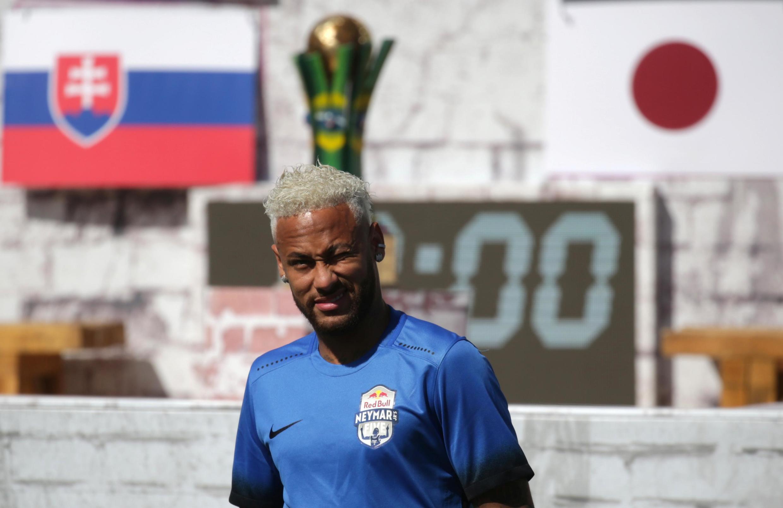 Neymar en juillet 2019 au Brésil.