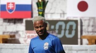 Dan wasan kungiyar kwallon kafa ta PSG Neymar Junior