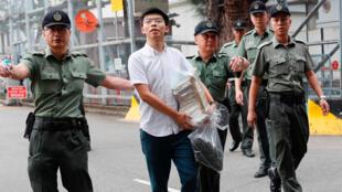 Joshua Wong da aka sallama daga gidan yarin Hong Kong