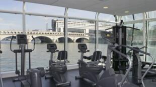 Pour cause de pandémie de coronavirus, des salles de sports sont fermées dans de nombreuses métropoles françaises.