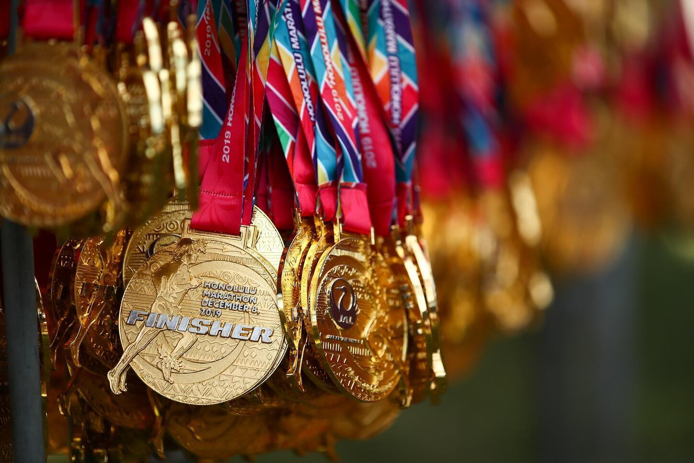 Kyautukan azurfa da ake badawa yayin gasar Marathon