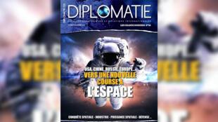 Couverture - Revue Diplomatie numéro 58 - Vers une nouvelle course à l'espace