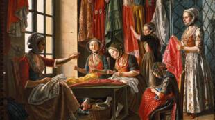 'El taller' de Antoine Raspal.