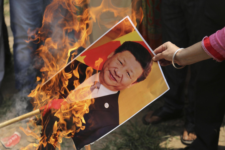 Inde - Chine - anti-Xi
