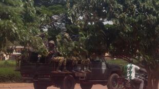 Sojojin Burkina Faso kan hanyar su na zuwa Ouagadougou