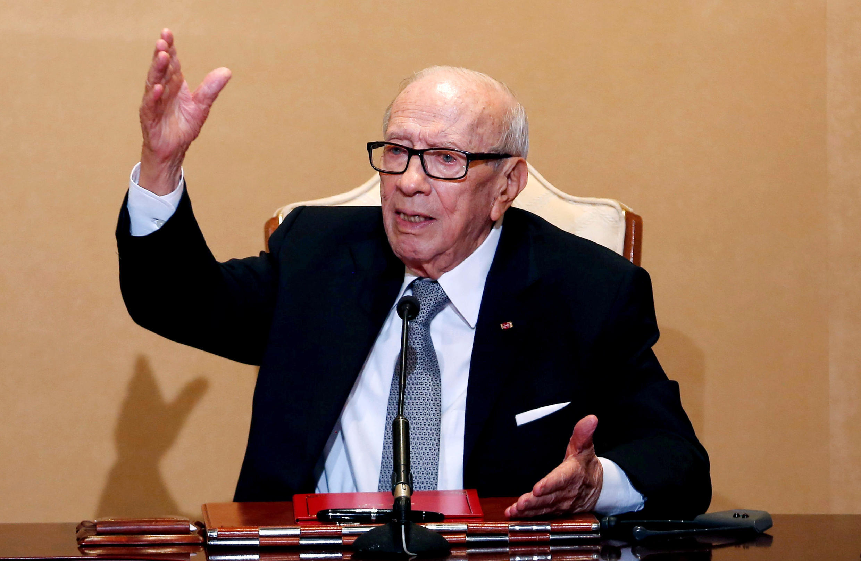 Президент Туниса Беджи Каид Эс-Себси скончался в четверг, 25 июля, на 93 году жизни