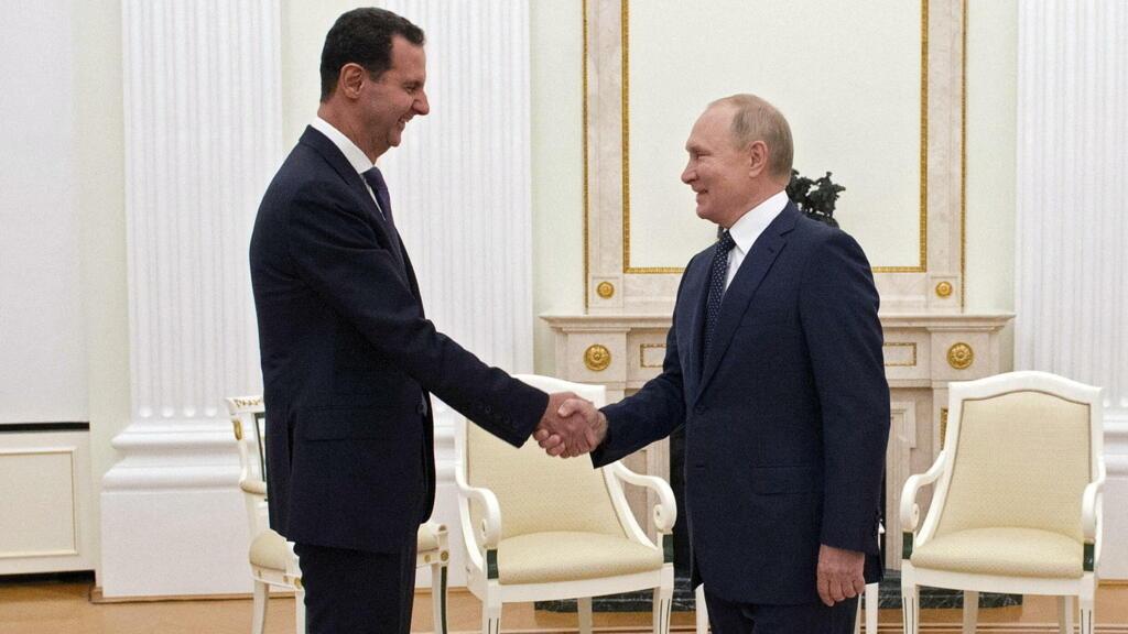 Перед уходом на самоизоляцию Путин принял Асада и назвал «главную проблему» Сирии