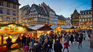 著名的斯特拉斯堡聖誕集市