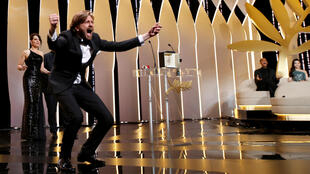 Swedish director Ruben Östlund, winner of the 2017 Palme d'Or or Golden Palm for his film The Square