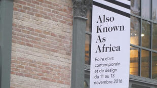 Affiche de la foire d'art contemporain AKAA à Paris (capture d'écran).