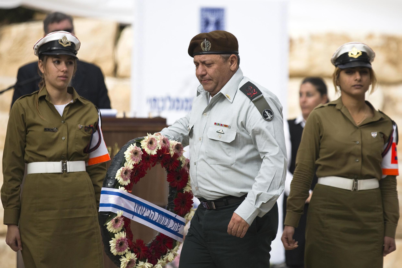 Tướng Gadi Eisenkot, ngày 27/11/2014.