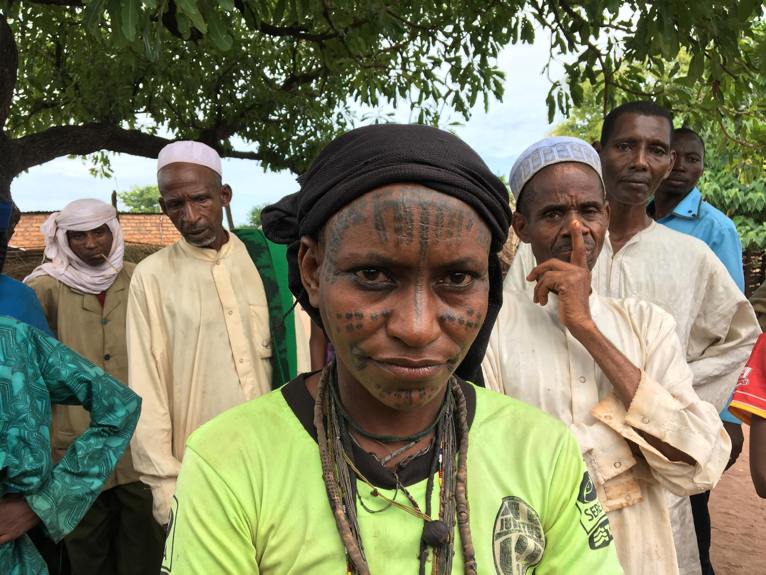 Aisha Togodi, 30, a returnee from Bougila, CAR, who has lived in a southern Chad returnee camp for 4 years