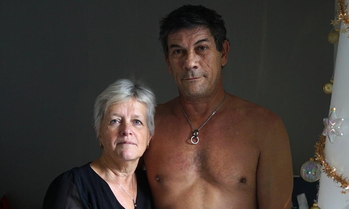 "Chantal Lambert, 60, dog-sitter, and Thierry Laplanche, 58. ""It wasn't love at first sight with Thierry. His web profile was too perfect, and a lot of men had lied to me. He said he cooked; he doesn't. But he does do the cleaning. I have never met a man who loves me like he does."""