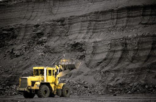 Une mine de charbon au Kazakhstan.