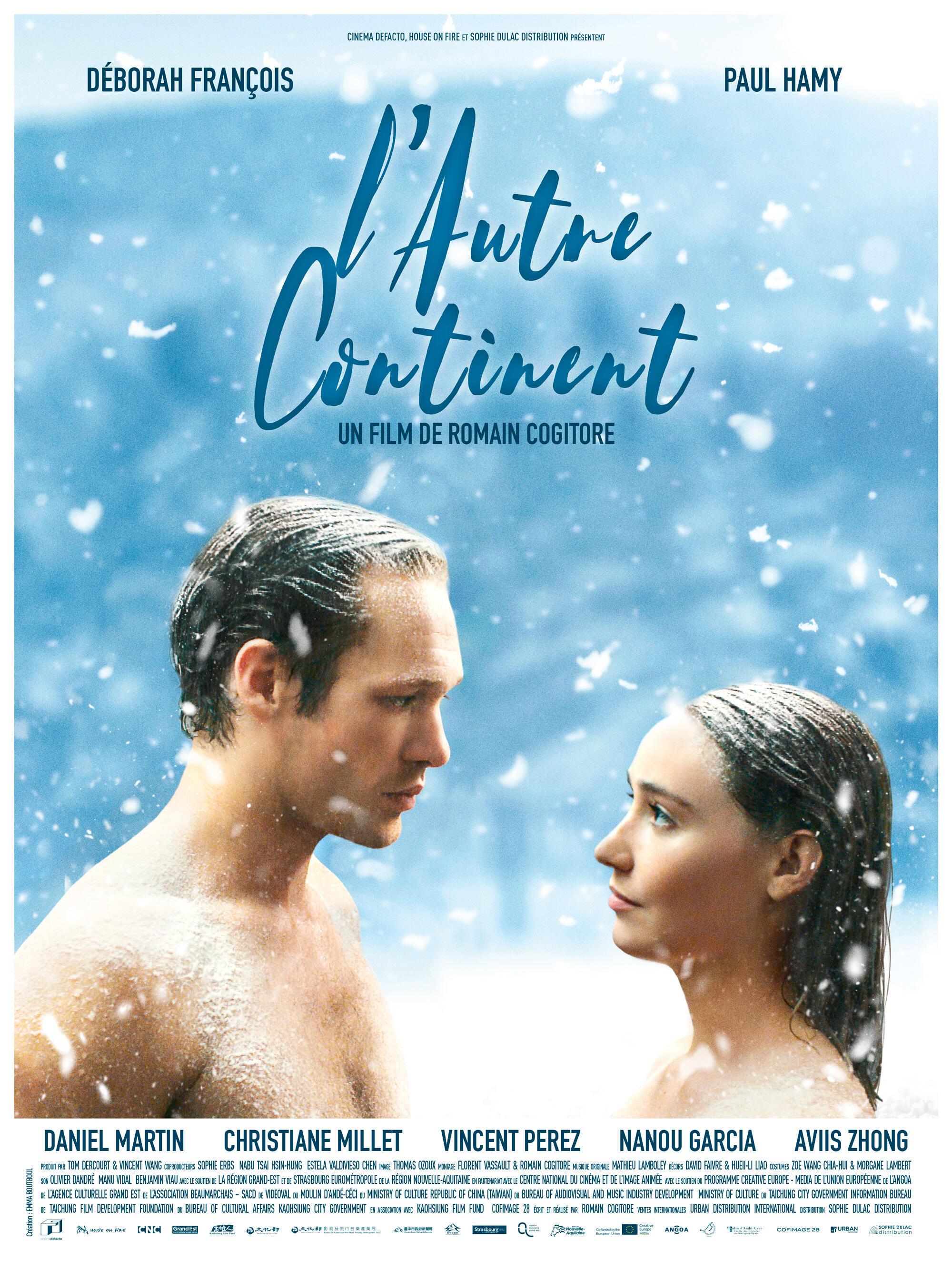 Affiche du film «L'autre continent», de Romain Cogitore.