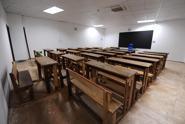 Salle de classe.